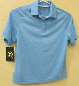 C9 Champion Boys' Golf Polo shirt Duo Dry UV protection Blue