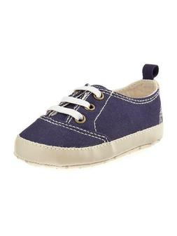 Old Navy Canvas Pull-On Sneakers for Baby Boy 0-18 Months Bl
