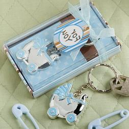 Blue Baby Carriage Design Key Chains, 30 by Fashioncraft