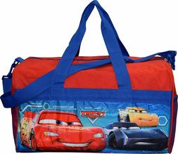 Cars Lighting McQueen Boys Duffel bag Sleep Over Night Trave