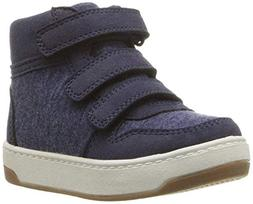 carter's Boys' Casper2 High-Top Sneaker, Navy, 10 M US Toddl