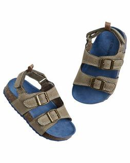 CARTER'S BUCKLE SANDALS FOR BOYS~AVAILABLE IN SIZE 1 OR SIZE