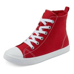 Cat & Jack Boys Paxton Hi-Top Canvas Sneaker CHECK FOR COLOR