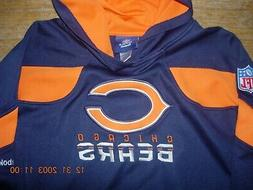 Chicago Bears Youth 18/20 XL HIGH SHEEN Blue/Orange Hoodie,N