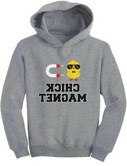 Chick Magnet Funny Outfit For Boys Toddler Hoodie For Easter