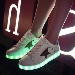Children Shoes Luminous Sneakers for Girls Boys Led Size 35-
