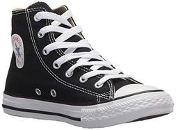 Converse Chuck Taylor All Star Hi Shoe - Kids' Black, 2.0