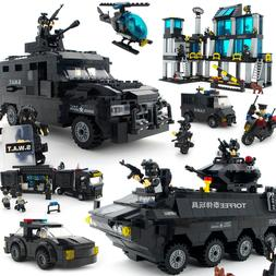 City compatible Legoed Police SWAT Helicopter <font><b>armou