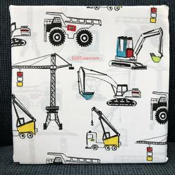 Boy Zone CONSTRUCTION 4p FULL SHEET SET Kids Tractor Dump Tr