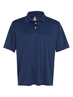Hanes Sport Men's Cool DRI Men's Performance Polo,Navy,Large