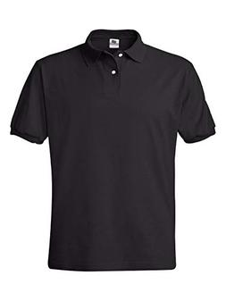 Hanes Cotton-Blend Jersey Men's Polo,,Deep Navy,,XXX-Large