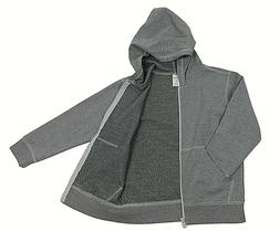 Gymboree Cotton Fleece Hoodie Jacket for Boys - Gray - L  /