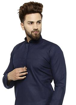 Cotton Kurta Pajama For Men Yoga Indian Clothing Ethnic Trad