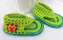 Crochet Baby Booties-Very Cute Crochet Mesh Sandals for Baby