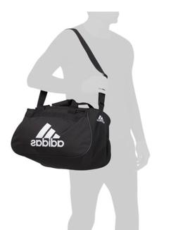 adidas Diablo Small Duffel  Gym Bag  Black White