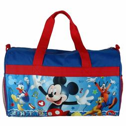 Disney Mickey Mouse Boys Duffel bag Sleep Over Night Travel