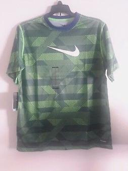 NIKE DRI-FIT TOP FOR BOYS STYLE 714948, SIZE L