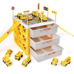 Excavator Toys For Kids Transporter Truck Construction Vehic