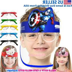 Face Shield for kids Boys Girls protection clear guard plast