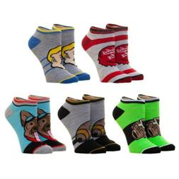 Fallout Ankle 5 Pack Small Socks - Bioworld