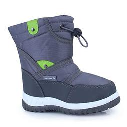 CIOR Fantiny Winter Snow Boots for Boy and Girl Outdoor Wate