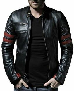 Fashionable Pure Leather Jacket for Men and Boys casual wear