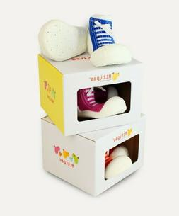 First Walking Shoes with Socks for Baby/Toddler Girls/Boys