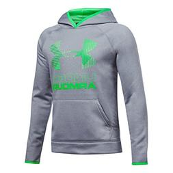 Under Armour Armour Fleece Solid Big Logo Youth X-Large Stee