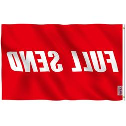 Anley Fly Breeze 3x5 Feet Full Send Red Flag Nelk Nelkboys f