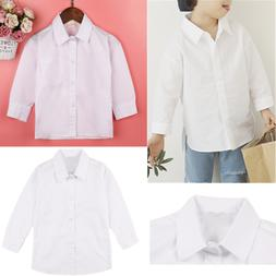 Formal White Long Sleeve Dress Shirt Party Wedding Suits for