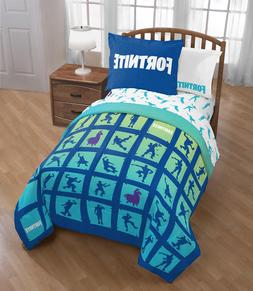 Fortnite Bedding Set For Boys Twin Full Comforter Sham Video