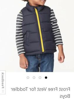 Old Navy Frost Free Vest For Toddler Boys: 3T