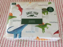 Boy Zone Full Sheet Set OEKO-Tex Standard Dinosaur!