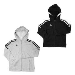 Adidas Full Zip Long Sleeve Hooded Sweatshirt for Boys