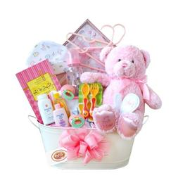 California Delicious Gift Basket, New Arrival Baby Girl