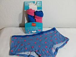 HANES GIRLS BOY SHORTS PANTYS~3 PACK~SIZE 10~COTTON STRETCH