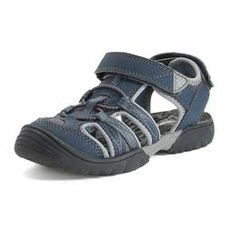 SONOMA Goods for Life Wander Boy's Navy Sandals Shoes Easy C