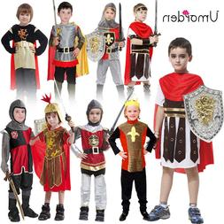 Halloween Ancient Roman Greek Warrior Soldier Gladiator Cost