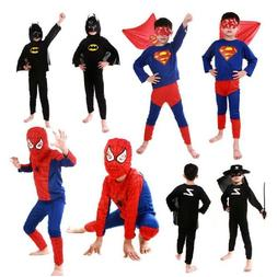 Halloween Costume Superhero Cosplay Fancy Dress Halloween Pa