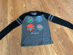 HALO Graphic T-shirt Long Sleeve For Boys Size M