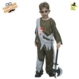 Horror Zombie Doctor Costumes Kids Dead Mediciner Role Play