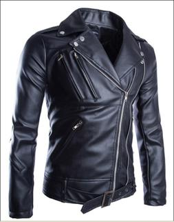 Hot Released Pure Leather Jacket for Slim Fit Mens and Boys