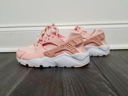 Nike Huarache Run SE Big Kids Shoes Storm Pink/Rust Pink/Whi