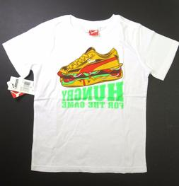 Puma HUNGRY FOR THE GAME big boys graphic short sleeve t-shi