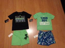 Under Armour Infant Boys' Short Sleeve Shirt and Short Sets,