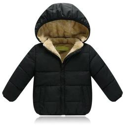 Jacket Kids Thick For Girls Boys Coat Warm Children Cotton I