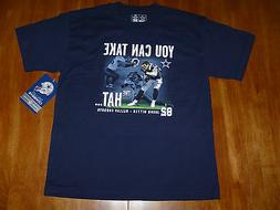 Jason Witten Dallas Cowboys No Helmet Tee Shirt Youth Large