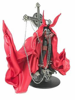 KC-SP-C: 1/12 Custom Red wired cape for McFarlane Spawn