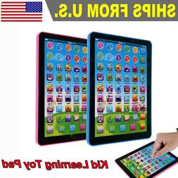 Kid Boys Girl Educational Tablet Learning Toys Pad Gift for