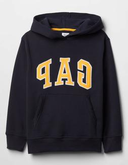 Gap Kids Boys Arch Logo Hoodie, Blue Galaxy